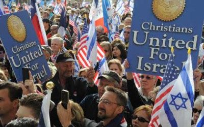 Open Letter – Dear Pastor Hagee and Christian Zionists