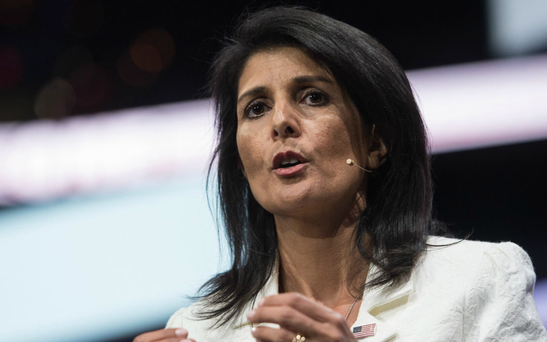 AIPAC, Day 2: Nikki Haley Unleashes